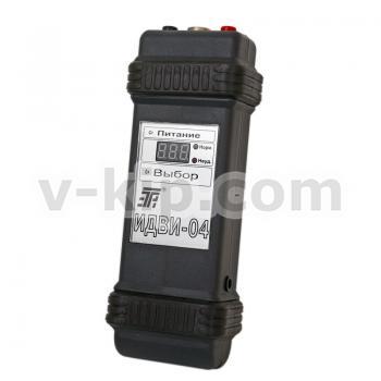 Индикатор дефектов обмоток электрических машин ИДВИ-04 - вид сбоку