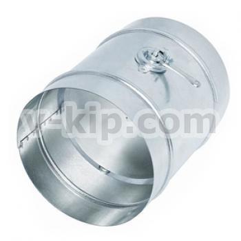 Дроссель-клапаны с ручным управлением круглого и прямого сечения типа ДК