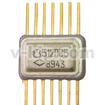 Микросхема интегральная полупроводниковая 512ПС5