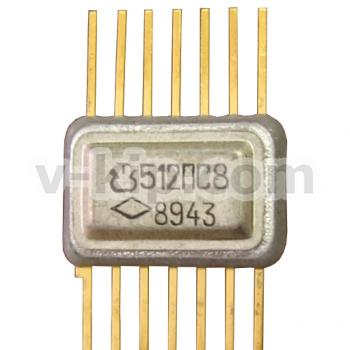 Микросхема интегральная полупроводниковая 512ПС8