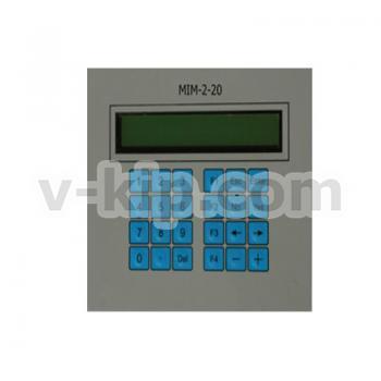Панели индикации и управления MIM-2-20 - фото