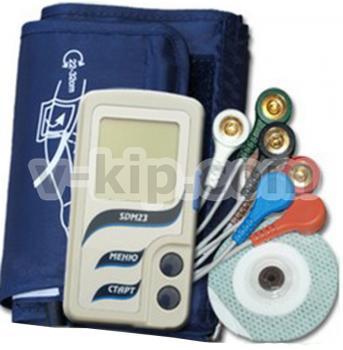 Монитор артериального давления и электрокардиосигналов суточный SDM 23 - фото