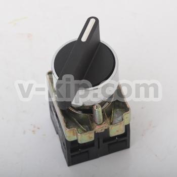 XB2-BJ33 кнопка поворотная 3поз. удлин. ручка - фото №3